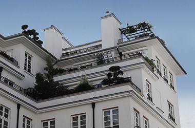Dach- und Innenraumbegrünung