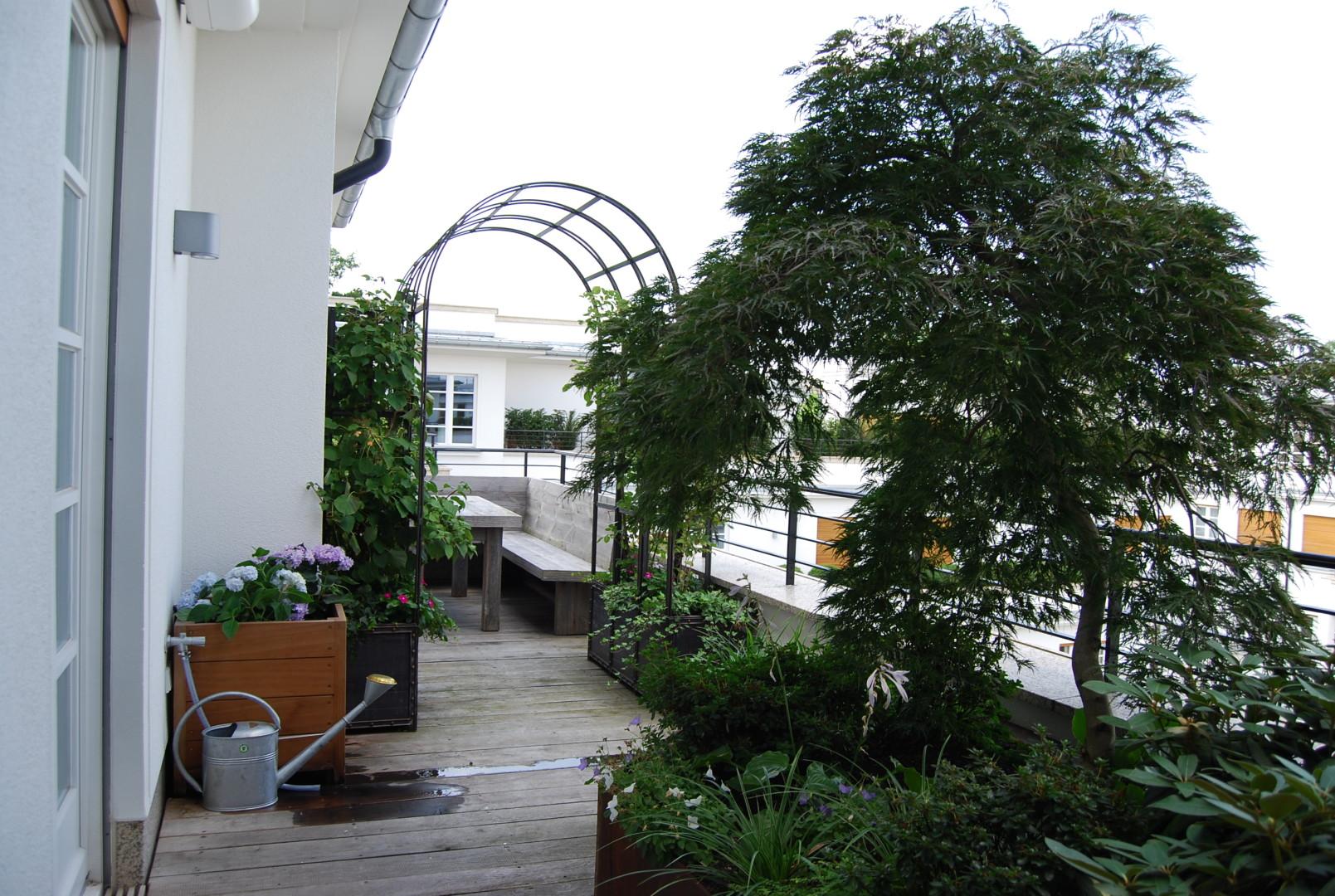 Lenbachgärten München - Private Dachterrassen