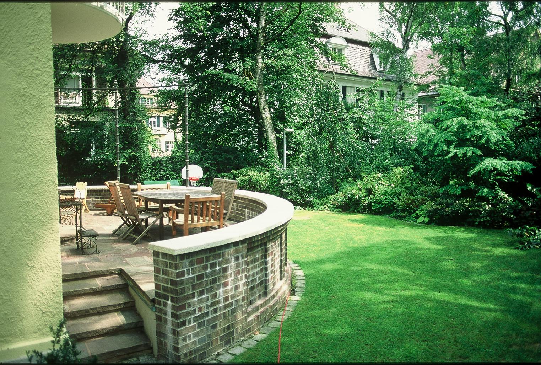 Privatgarten in Bogenhausen