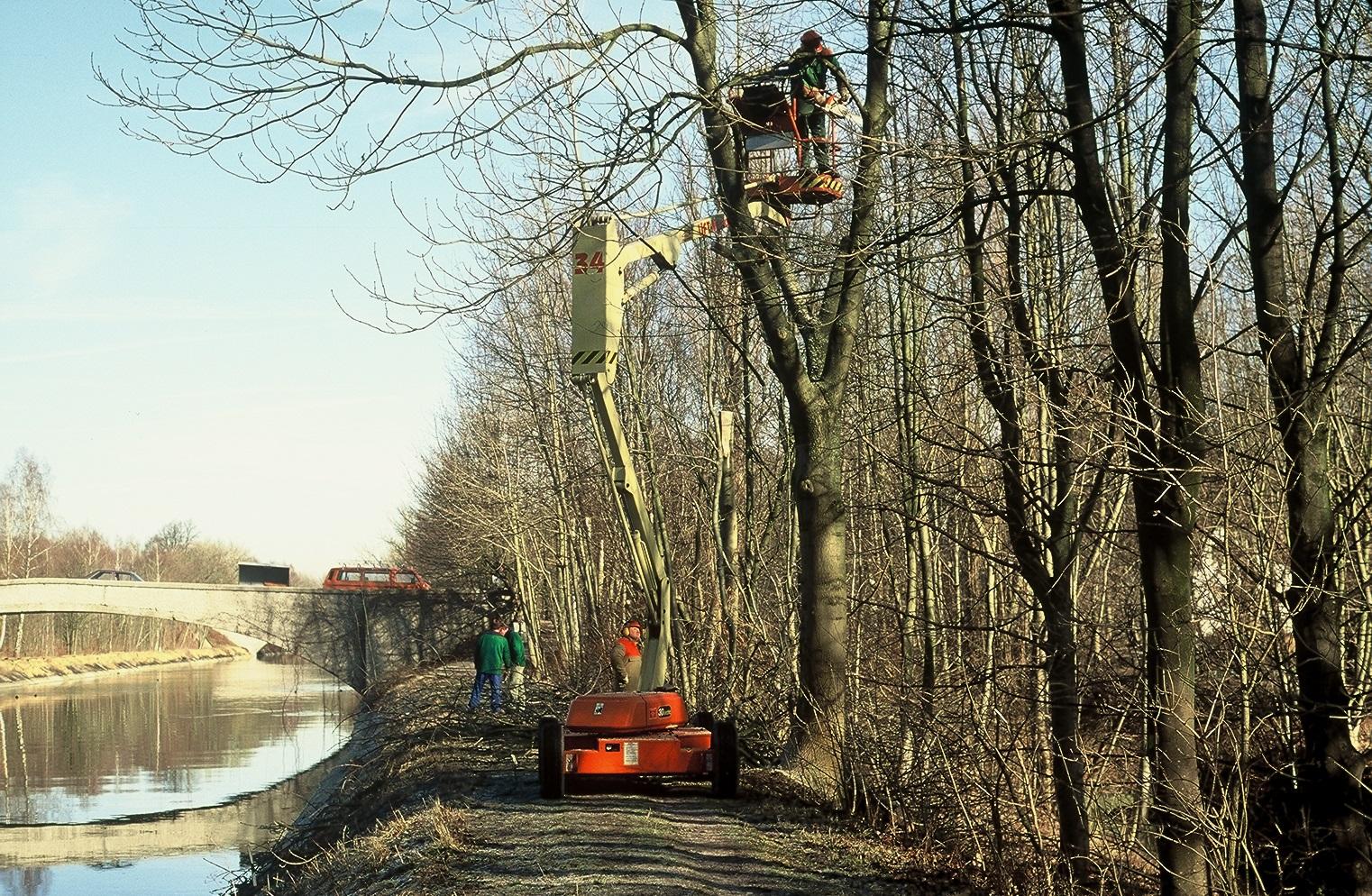 Instandsetzung Werkkanal Mittlere Isar, München