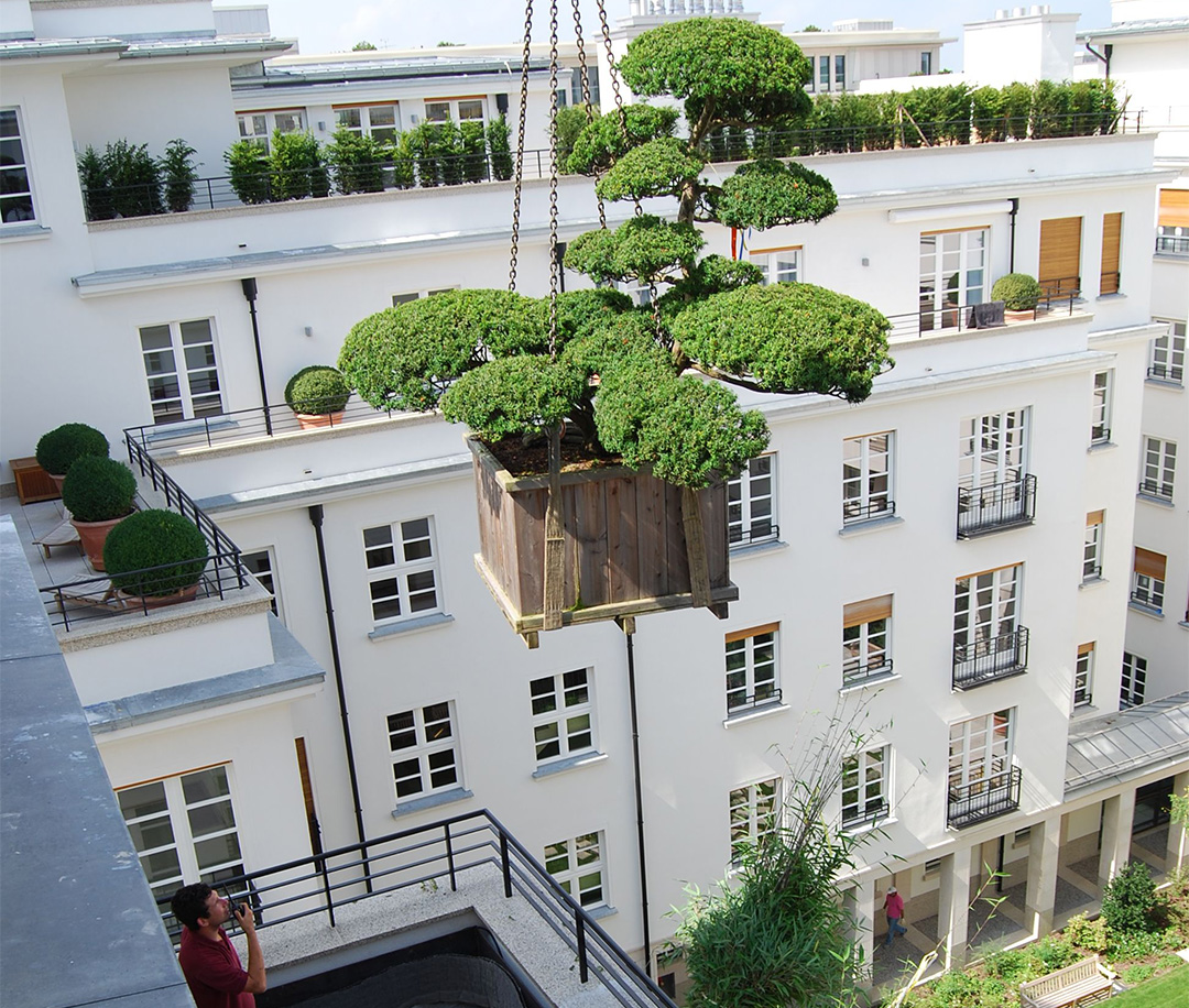 Private Dachterrasse Lenbachgärten - München