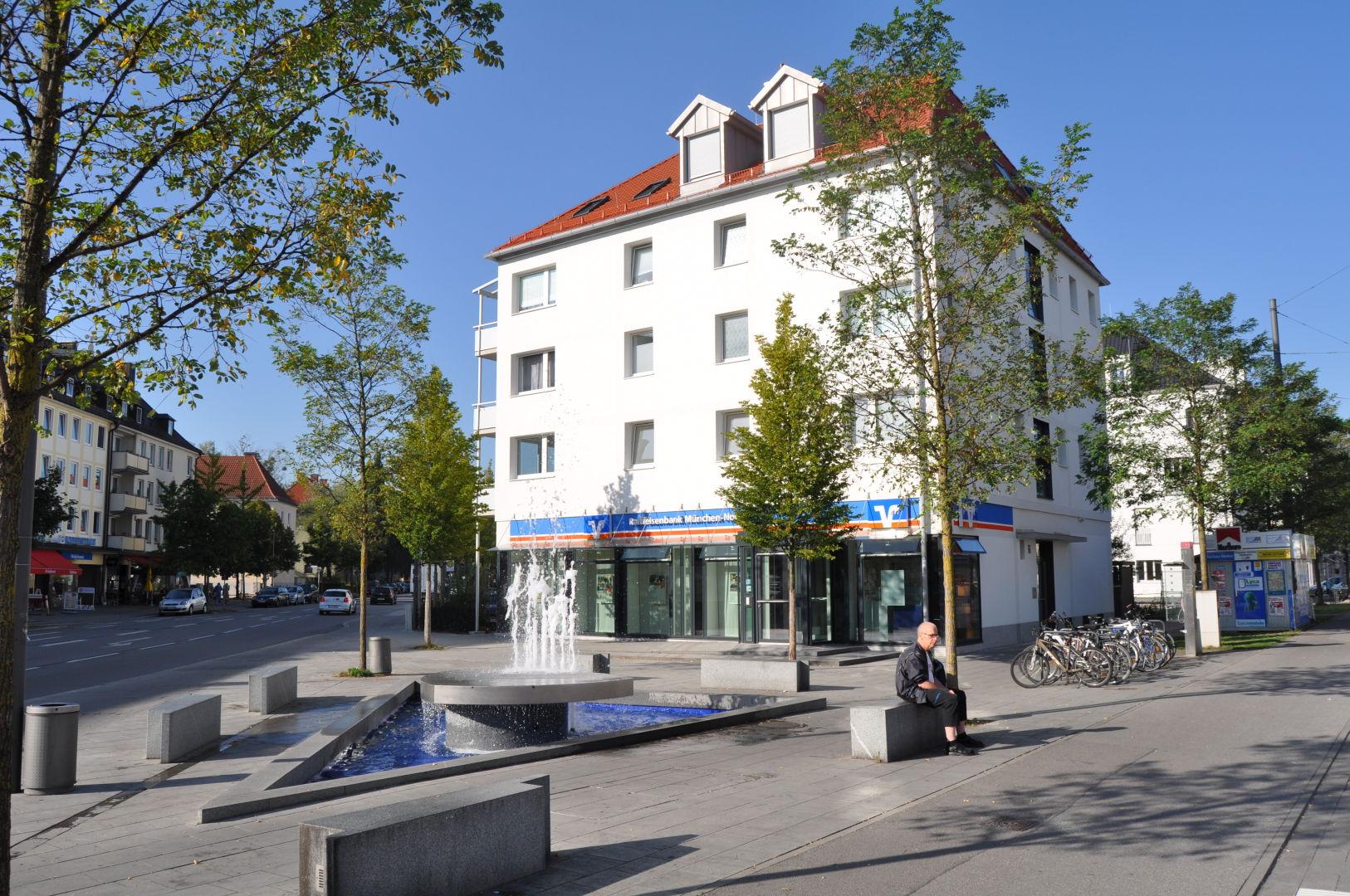 Filiale der Raiffeisenbank München - Nord am Moosacher Stachus