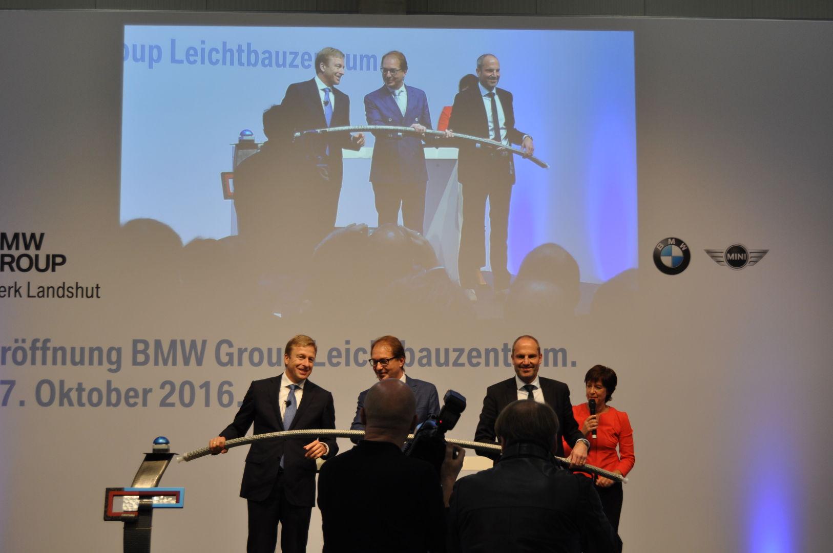 BMW Group - Leichtbauzentrum - Eröffnung durch Bundesverkehrsminister Dobrindt am 27.10.2016